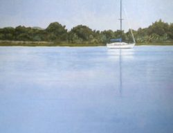 Dawn: Beaufort Sailboat by Addison (Painter)