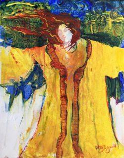 Aureolin Robes by Kathy  Daywalt