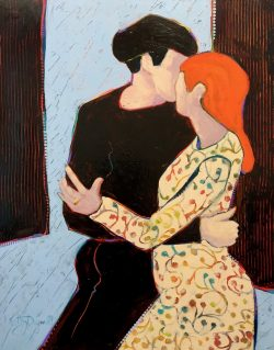 Tango Kiss by Kathy  Daywalt
