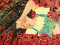 Dorothy Sleeps-Flower Power by Kathy  Daywalt