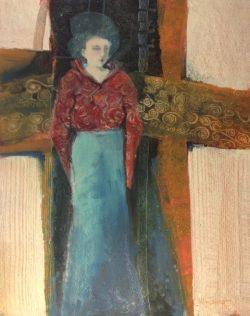 On the Threshold by Kathy  Daywalt