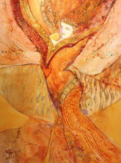 Upswept Spirit by Kathy  Daywalt