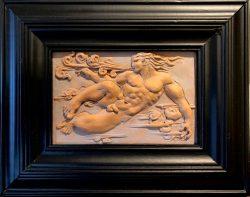 Deco Wind God (Zephyr) by Campbell Glynn Paxton