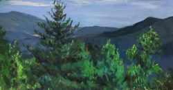 Blue Ridge Mountains by Elsie Dinsmore Popkin