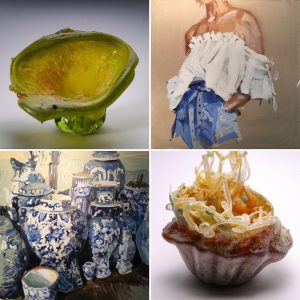 New Works By: Laura Lacambra Shubert and Sally Resnik Rockriver