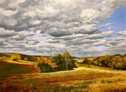 Fall Pasture, Middleburg, VA by William C. Wright
