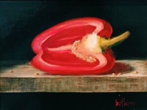 Red Pepper by Bert Beirne