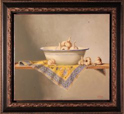 Bowl of Garlic by Bert Beirne