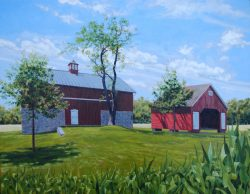 Greenspring Barn II by William C. Wright