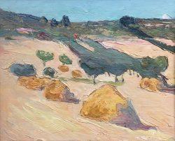 Harvest Time in the Midi by Wladimir  Terlikowski