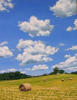 Hay Rolls, Greenspring Valley by William C. Wright