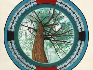 Hemlock Mandala by Robin Hanes