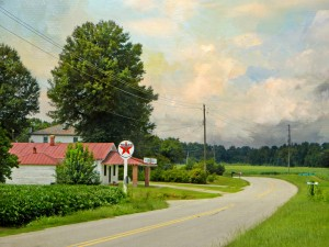Along a Nash County Country Road by Watson Brown