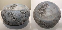 Shallow Bowl in Round Shape by Hiroshi Sueyoshi
