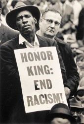 Honor King: End Racism by Burk Uzzle