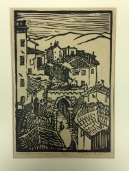 Housetops - Perugia by Mabel Pugh