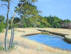Croatan Forest- Marsh by Elsie Dinsmore Popkin