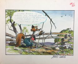 B'rer Fox by Marc Davis, Walt Disney Studio