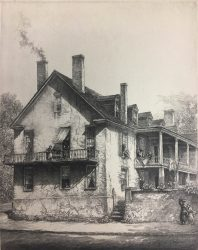 General Lillington's House, Wilmington by Louis Orr