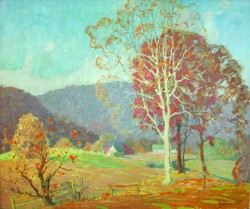 Blue Ridge Scene by John Adams Spelman (1880-1941)