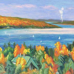 Pastel Paintings from the Estate of Elsie Dinsmore Popkin