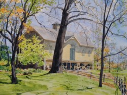Johnson Barn in April by William C. Wright