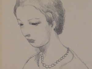 Jeune Fille by Marie Laurencin (1883-1956)