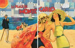 Plage de Monte Carlo by Marlowe