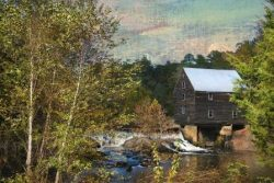 Laurel Mill in Autumn by Watson  Brown