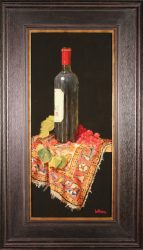Lynch Bages, Red Grapes and Oriental by Bert Beirne