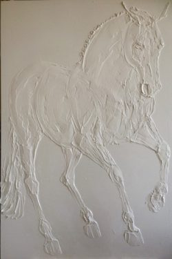 Pirouette (Andalusian Horse) by Brooke Major