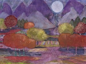 Moon Beams Spill into the Valley by Kathy Daywalt