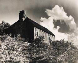 Mountain Cabin Portrait by Bayard Wootten
