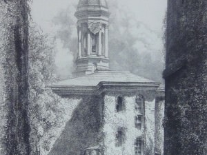 Nassau Hall by Louis Orr