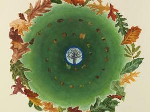 Oak Study by Robin Hanes