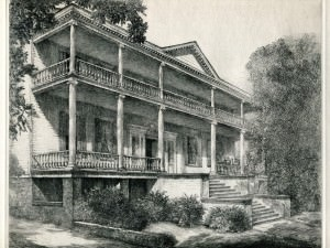 Burgwin Wright Cornwallis House, Wilmington, NC by Louis Orr