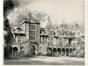 The Quadrangle by Louis Orr