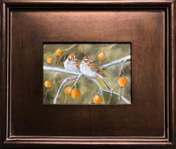 Persimmon Buddies by Lee Mims