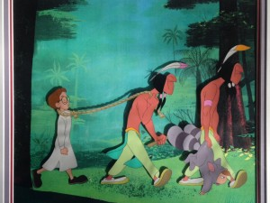 Peter and the Lost Boys captured by Indians by Walt Disney Studios