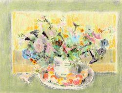 Petunias by Hobson Pittman (1899-1972)