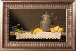 Pewter and Lemon by Bert Beirne