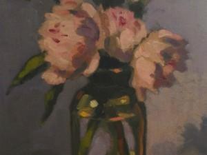 Pink Peonies by Al Gury