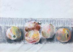 Peaches by Hobson Pittman (1899-1972)