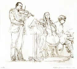 Orchestra Ensemble by Popkin, Elsie Dinsmore (1937-2005)