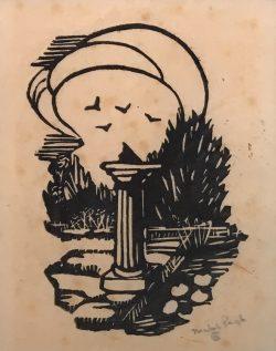 Garden Club of Alamance Sundial by Mabel Pugh