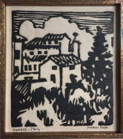 Houses Italy by Mabel Pugh