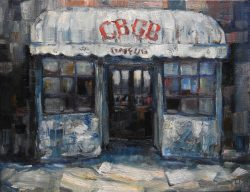 CBGB's by Leslie Pruneau