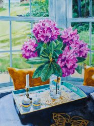 Rhododendron in the Kitchen Bay by William C. Wright