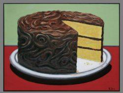 Chocolate Cake by Robert Box
