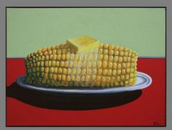 Corn with Butter by Robert Box